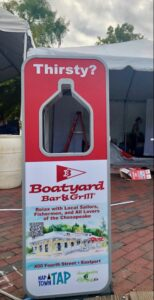 NAPTOWN TAP with Boatyard brand