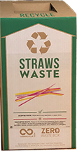 straw waste container