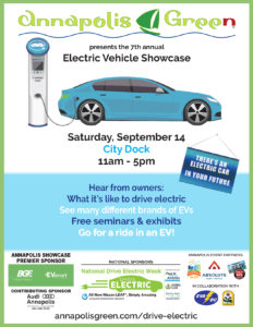 electric vehicle showcase flyer
