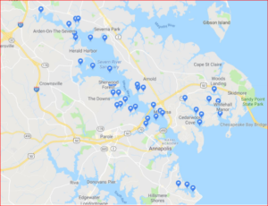 severn river monitoring map