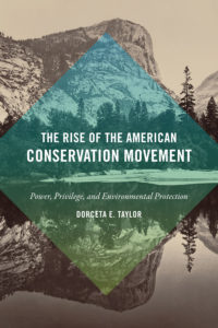 rise of american conservation movement book cover