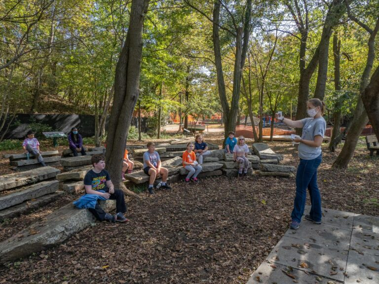 School in Nature in session at Annapolis Maritime Museum & Park