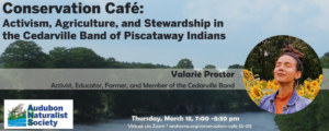 Conservation Cafe March 2021