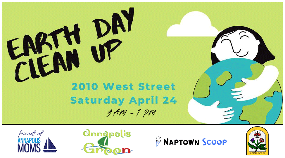 Earth Day Cleanup flyer