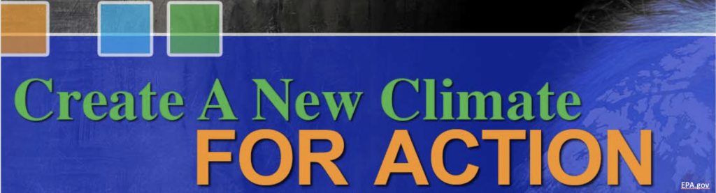 create a new climate for action